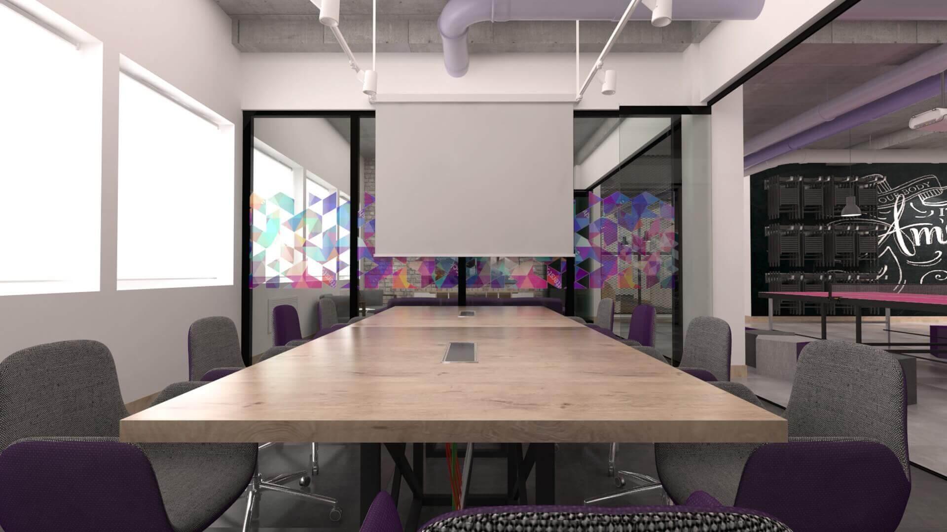 ofis içmimari 2358 Connected2.me C2M Bilişim Ofisler