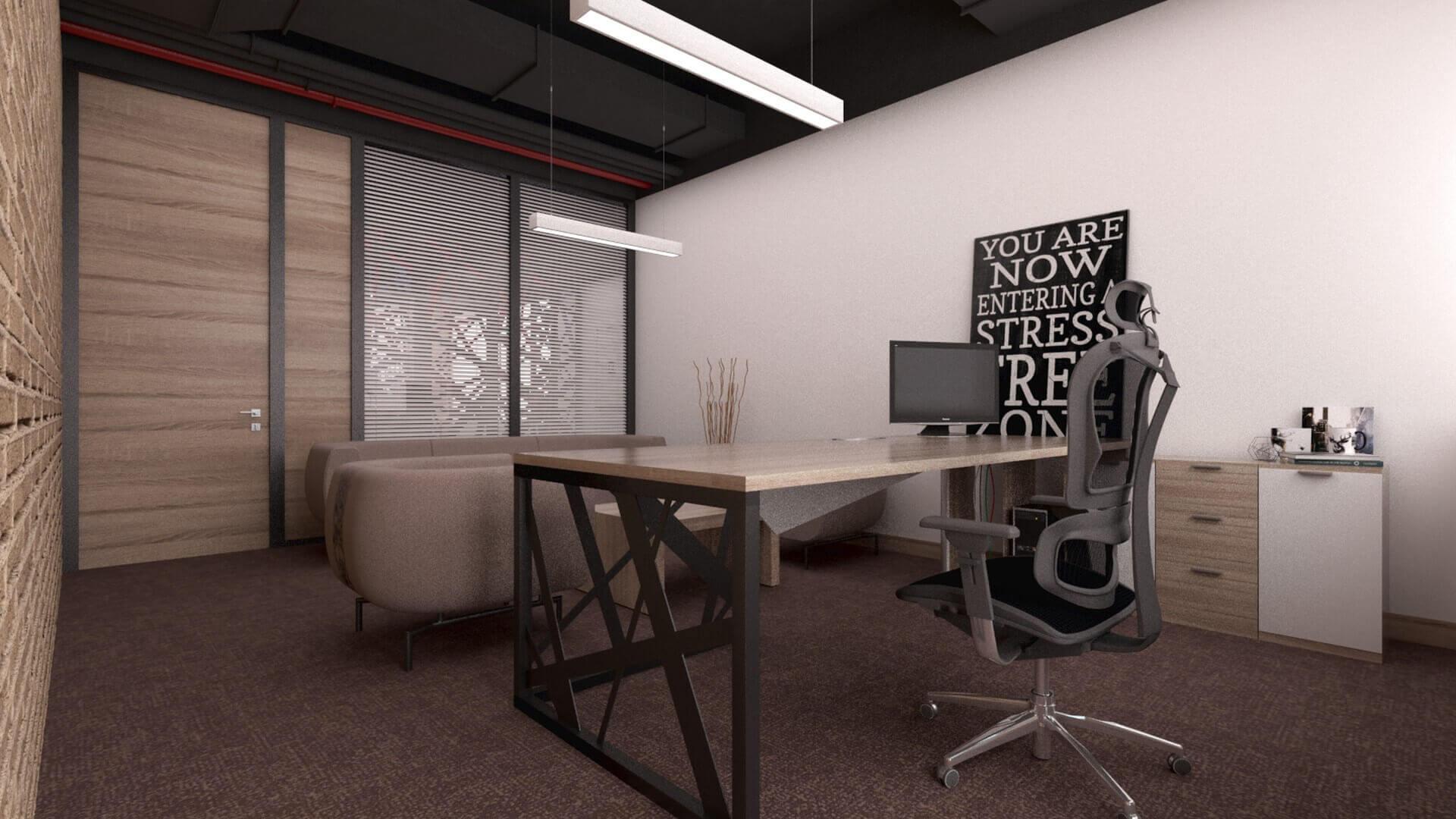 ofis içmimari 2376 CBKSoft  Ofisler