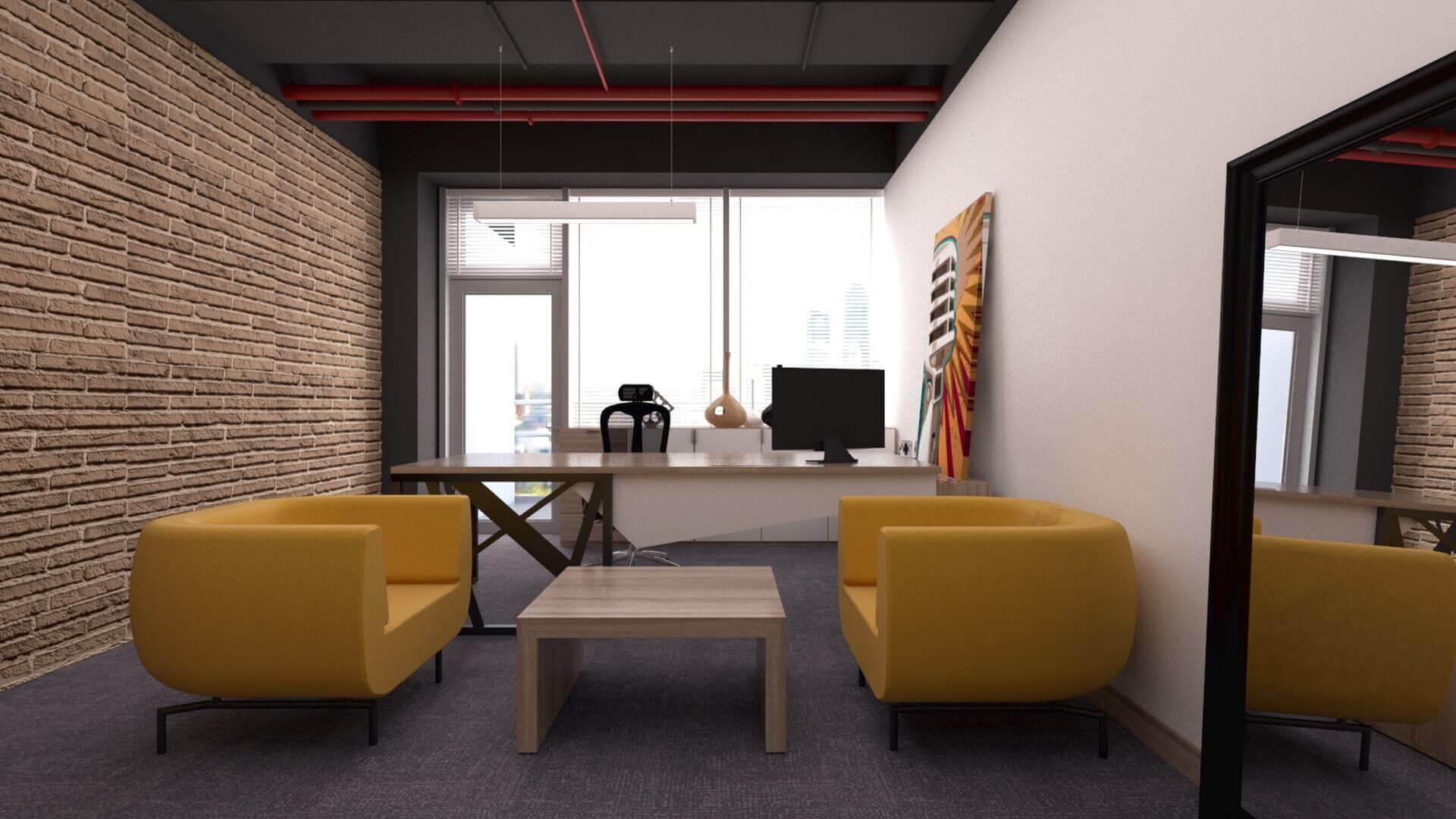 ofis dekorasyonu 2380 CBKSoft  Ofisler