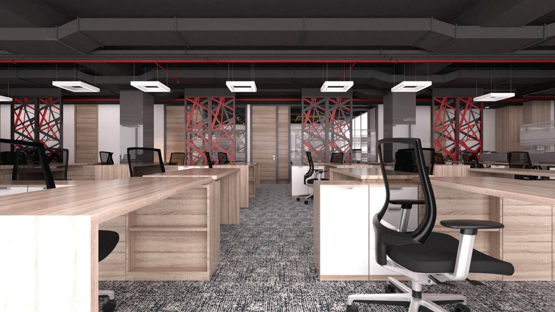 ofis dekorasyonu 2390 CBKSoft  Ofisler