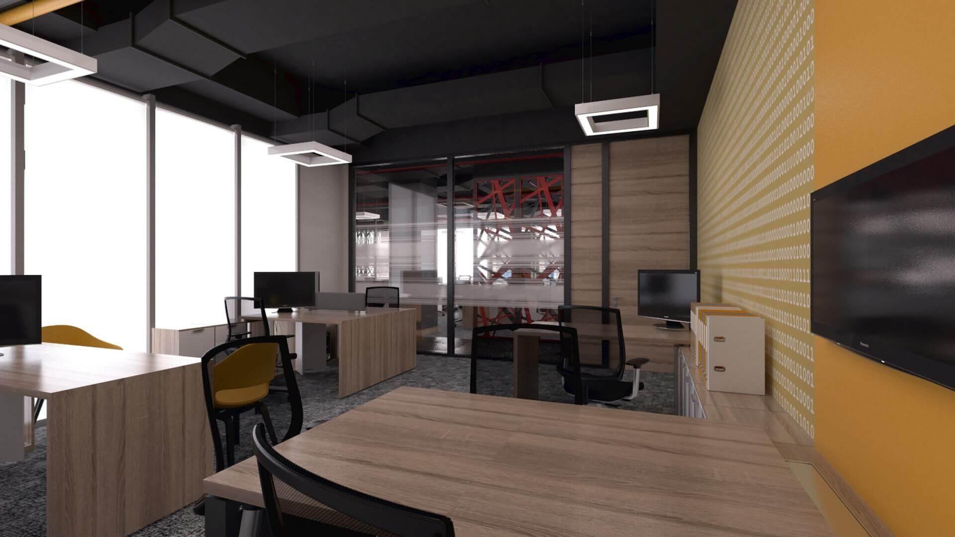 ofis içmimari 2397 CBKSoft  Ofisler
