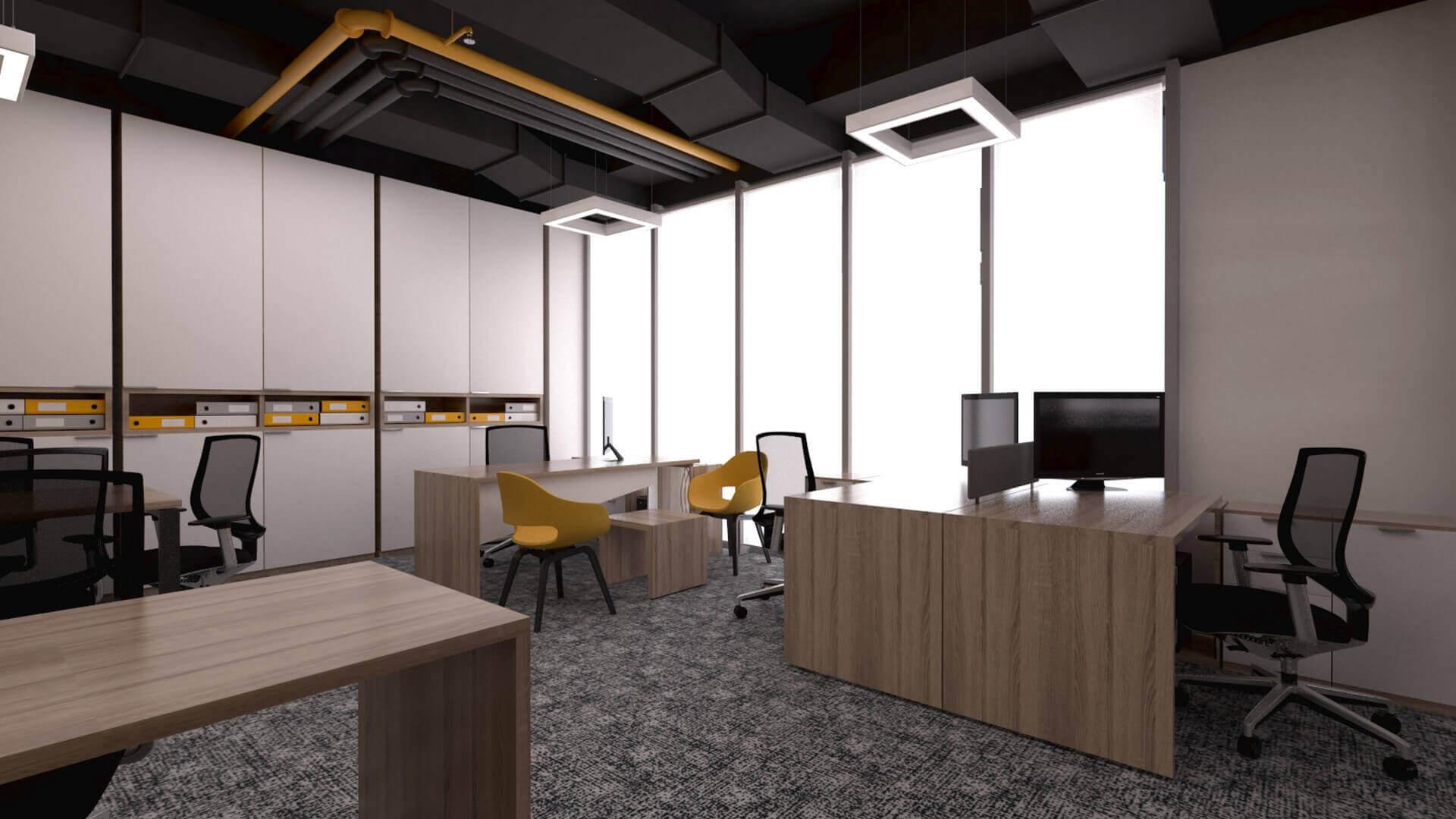 ofis mimari 2398 CBKSoft  Ofisler
