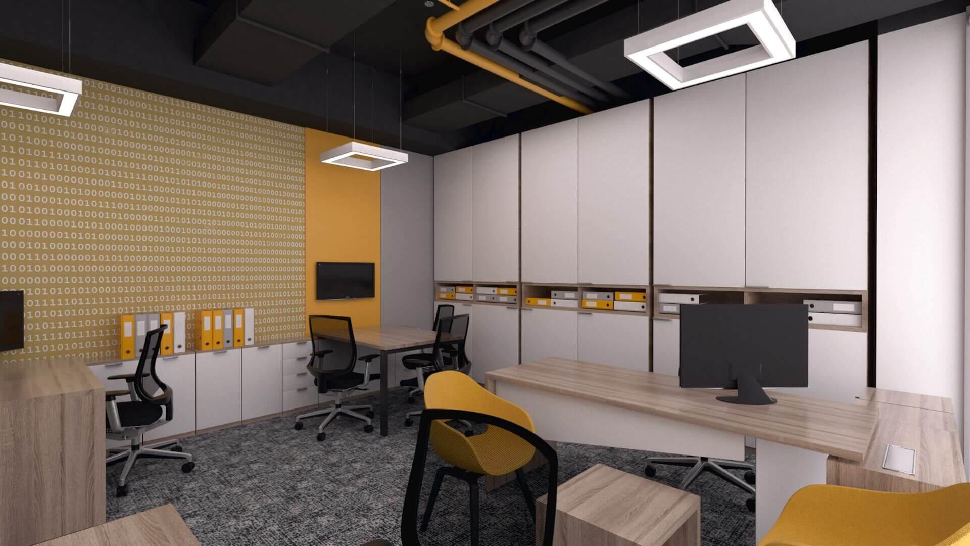 ofis içmimari 2400 CBKSoft  Ofisler