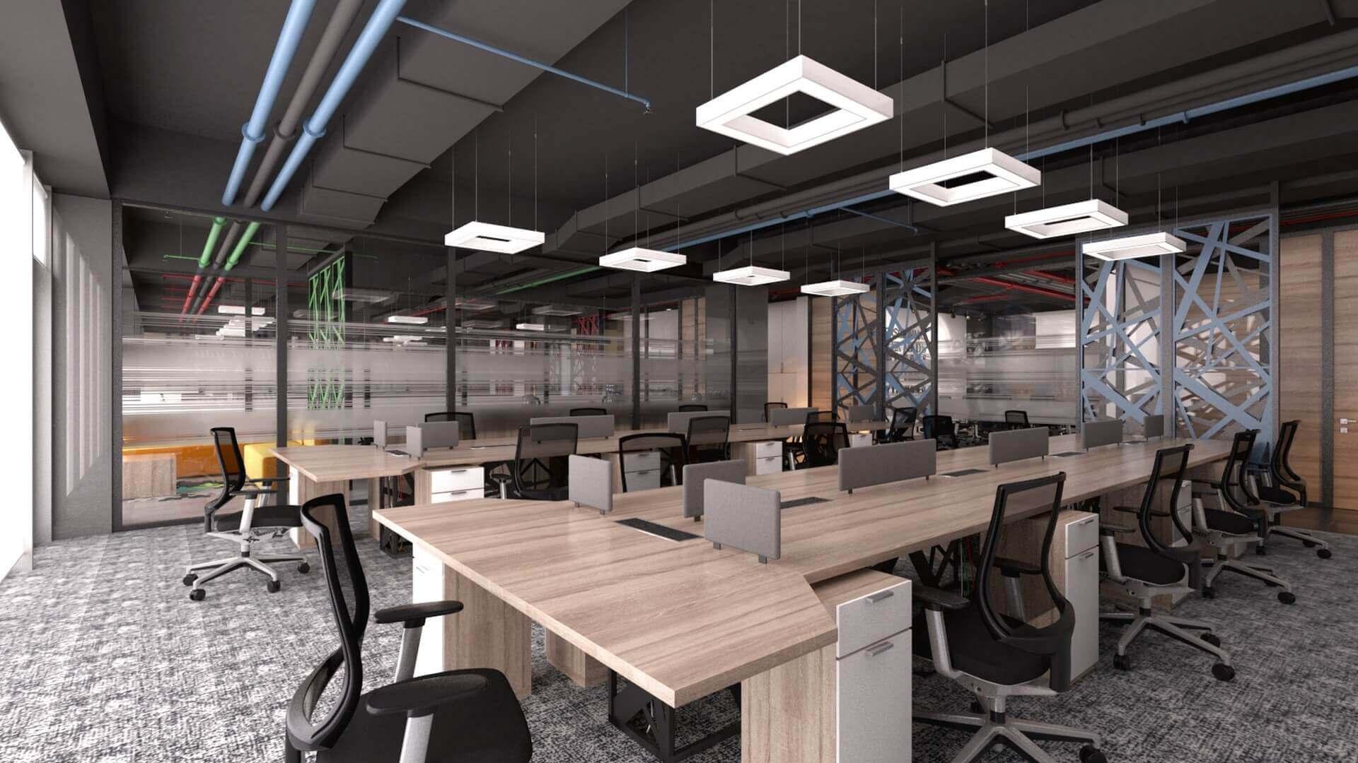 ofis dekorasyonu 2410 CBKSoft  Ofisler