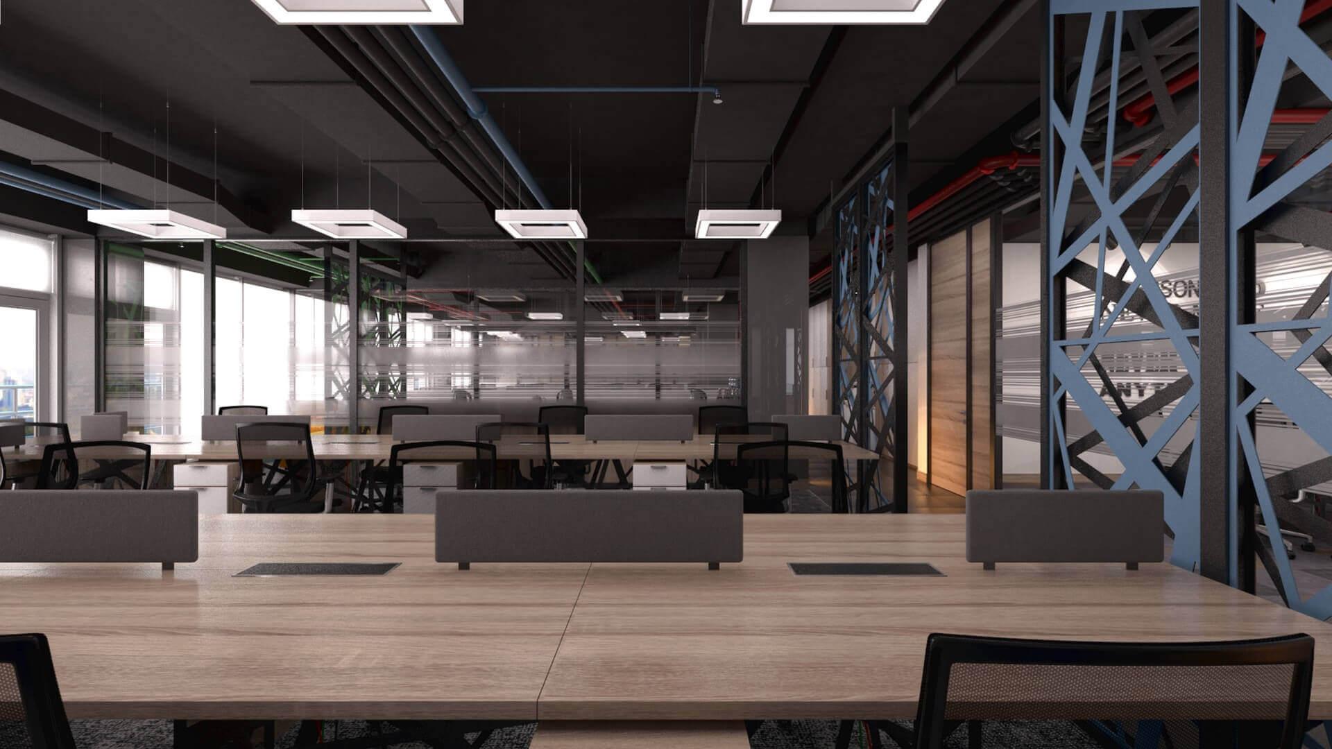 ofis içmimari 2412 CBKSoft  Ofisler