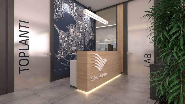 ofis içmimari 2415 Şahin Planlama Ofisler