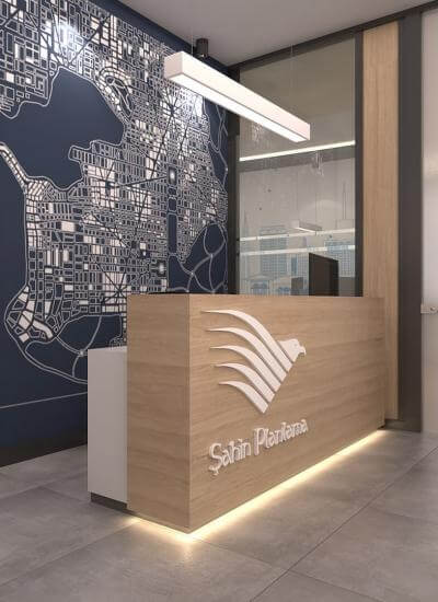 ofis içmimari 2415 Şahin Planlama
