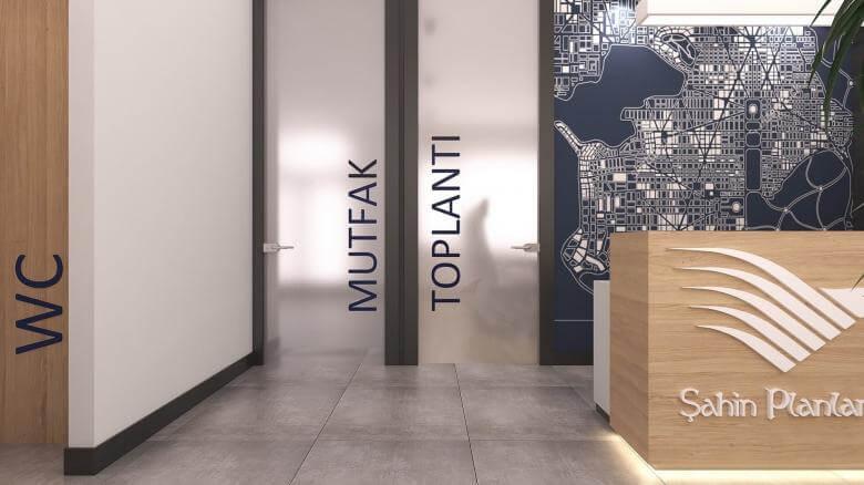 ofis içmimari 2416 Şahin Planlama Ofisler