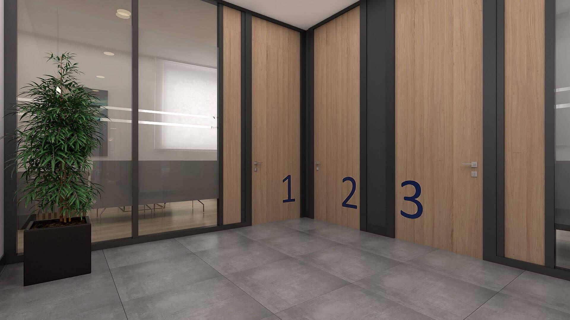 ofis dekorasyonu 2420 Şahin Planlama Ofisler