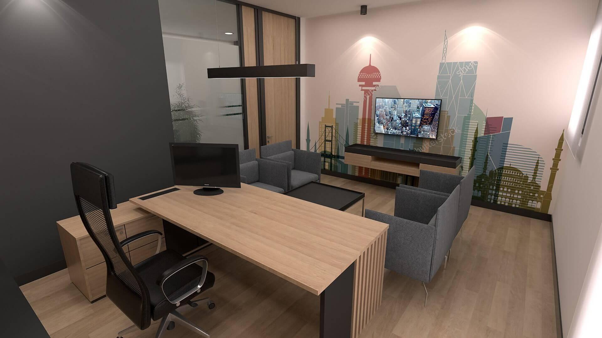 ofis içmimari 2424 Şahin Planlama Ofisler