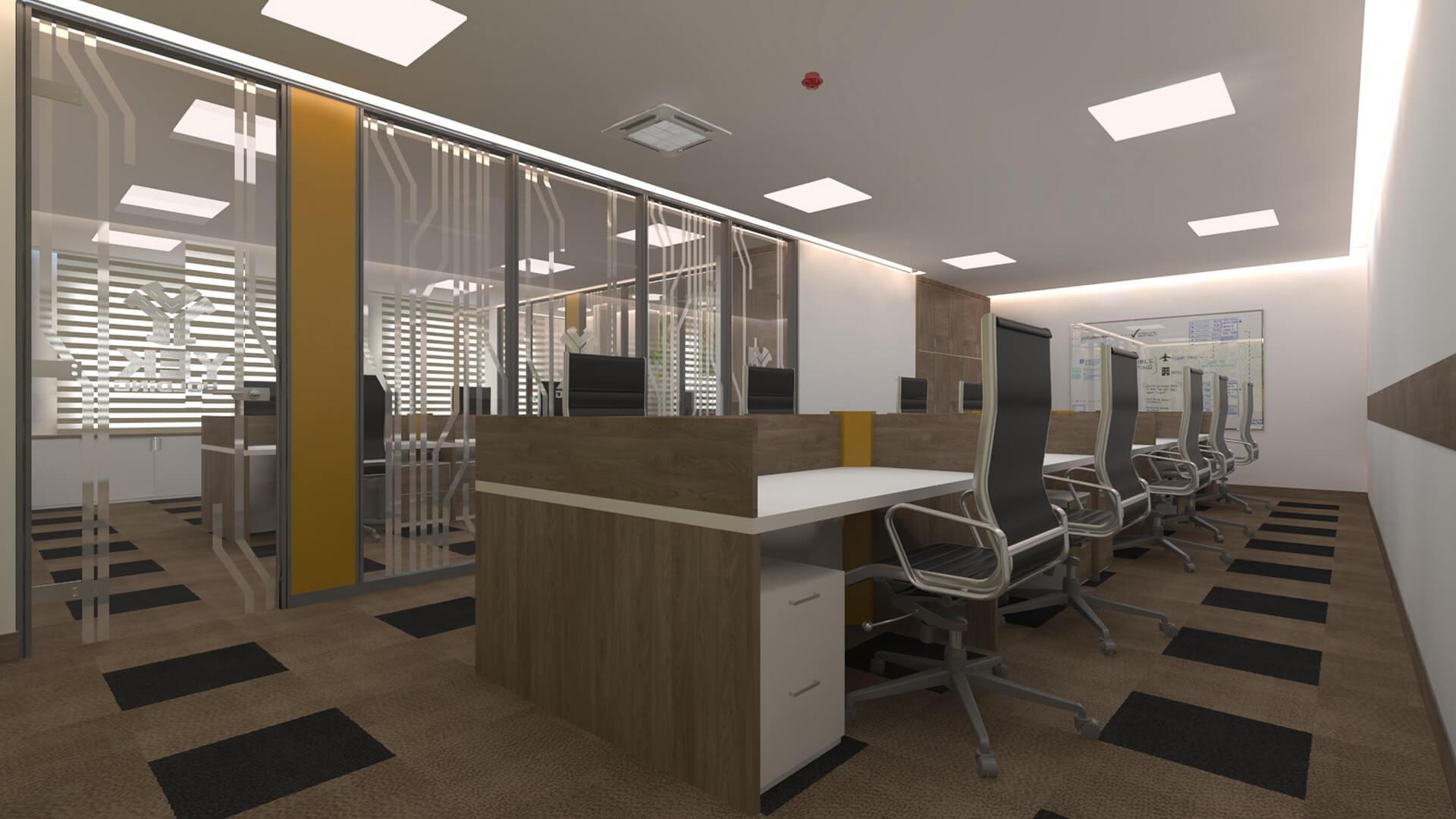 Gisaş Ofis, Ofisler