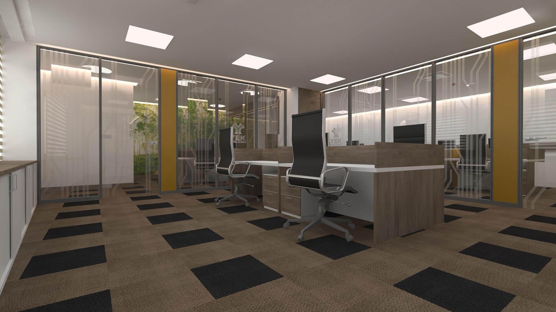 ofis içmimari 2442 Gisaş Ofis Ofisler
