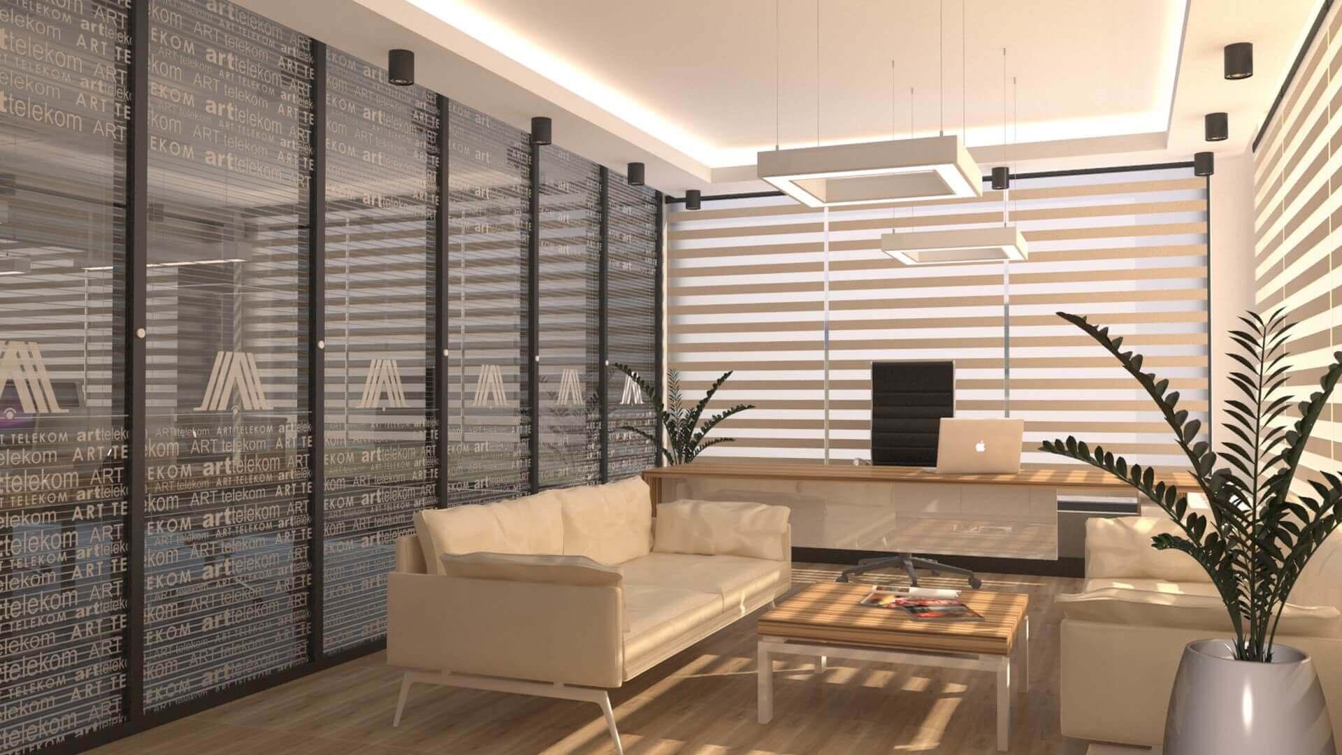 ofis içmimari 2544 A. Telekom Ofis Ofisler