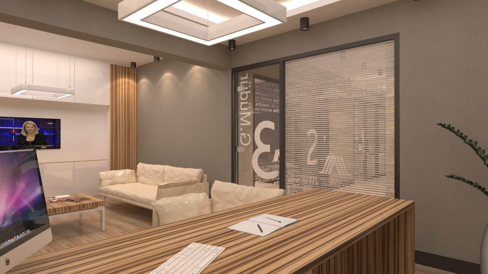 ofis içmimari 2547 A. Telekom Ofis Ofisler