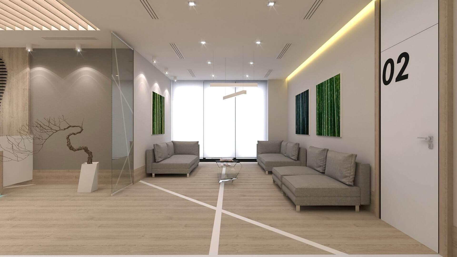 Mahall Ankara 2567 Denthouse - Diş kliniği Ofisler