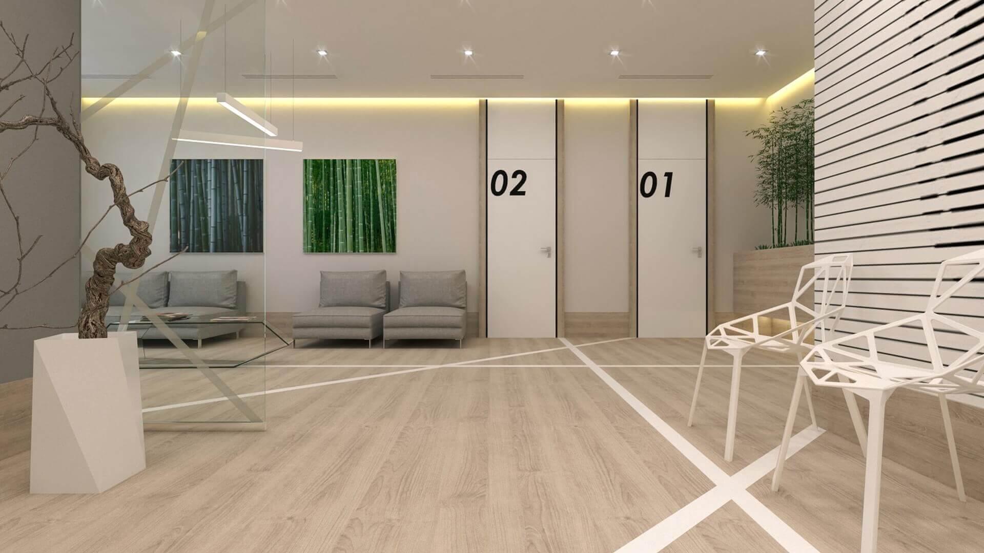 Mahall Ankara 2569 Denthouse - Diş kliniği Ofisler