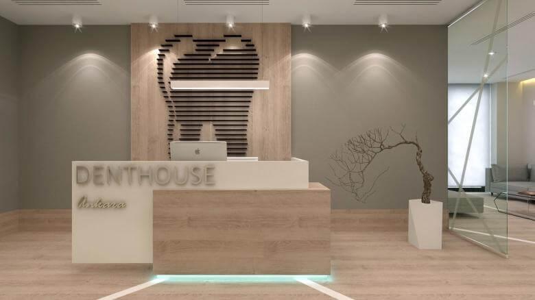 ofis içmimari 2571 Denthouse - Diş kliniği Ofisler