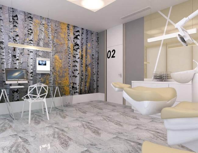 ofis dekorasyonu 2575 Denthouse - Diş kliniği
