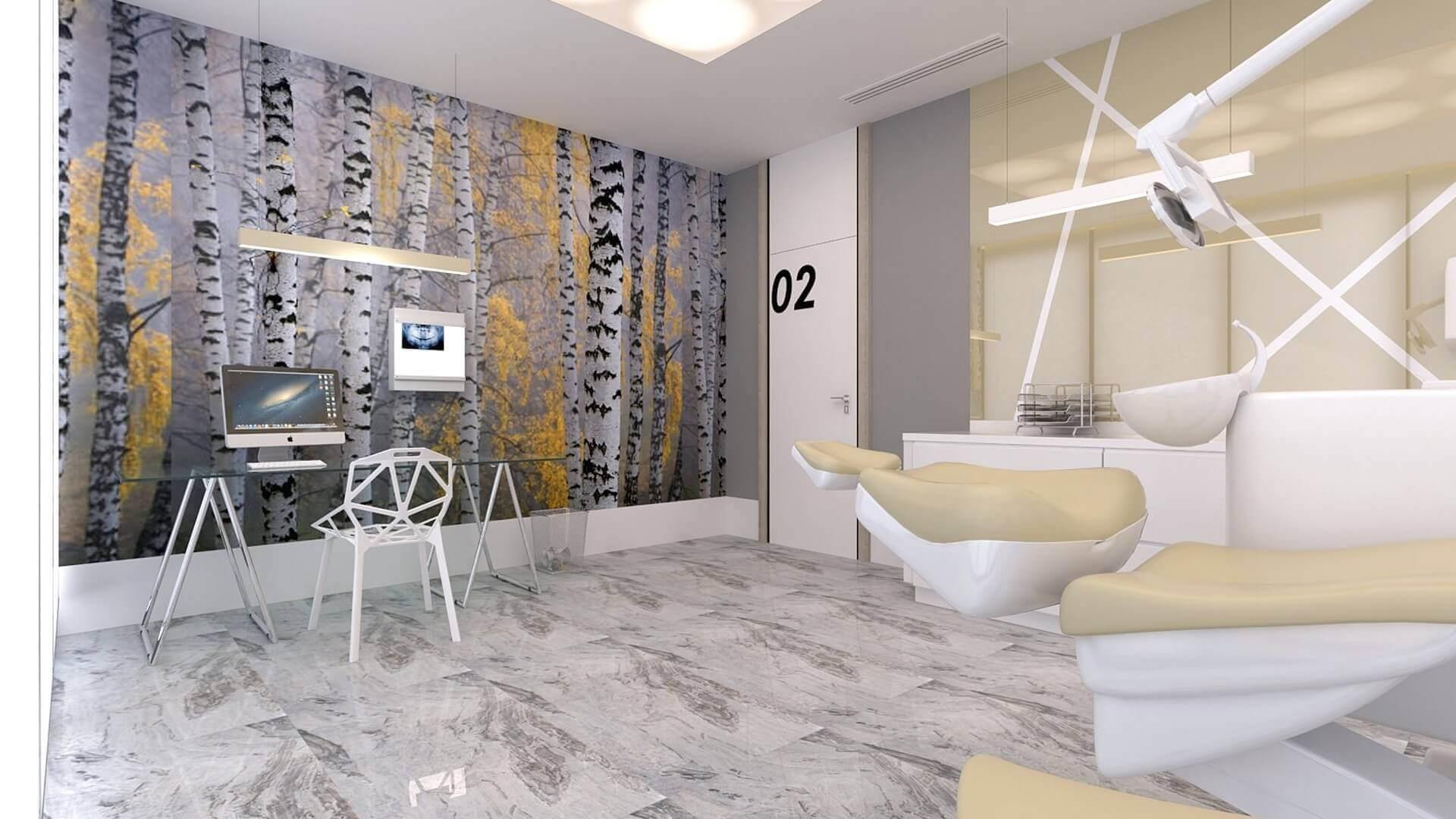 ofis dekorasyonu 2575 Denthouse - Diş kliniği Ofisler