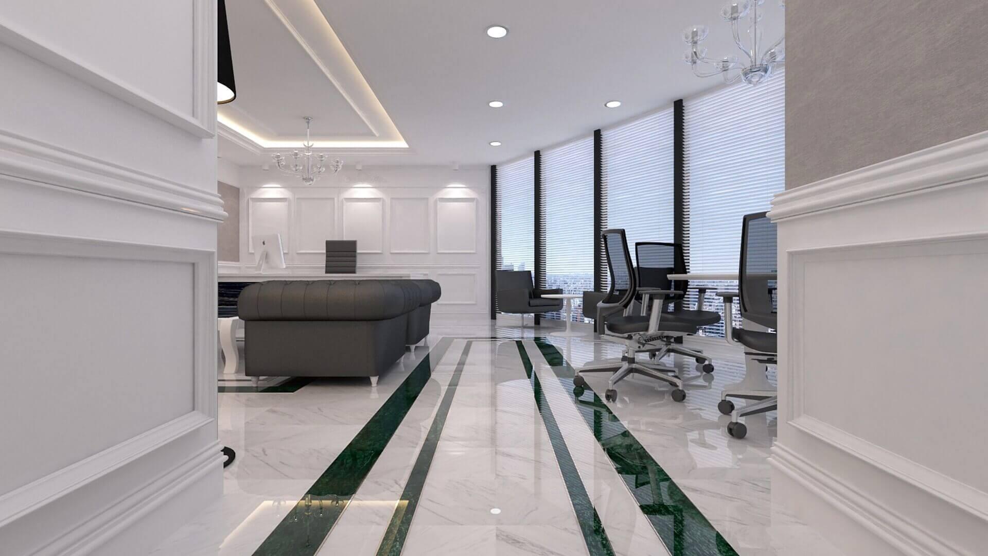ofis dekorasyonu 2585 DSR Enerji Ofisler