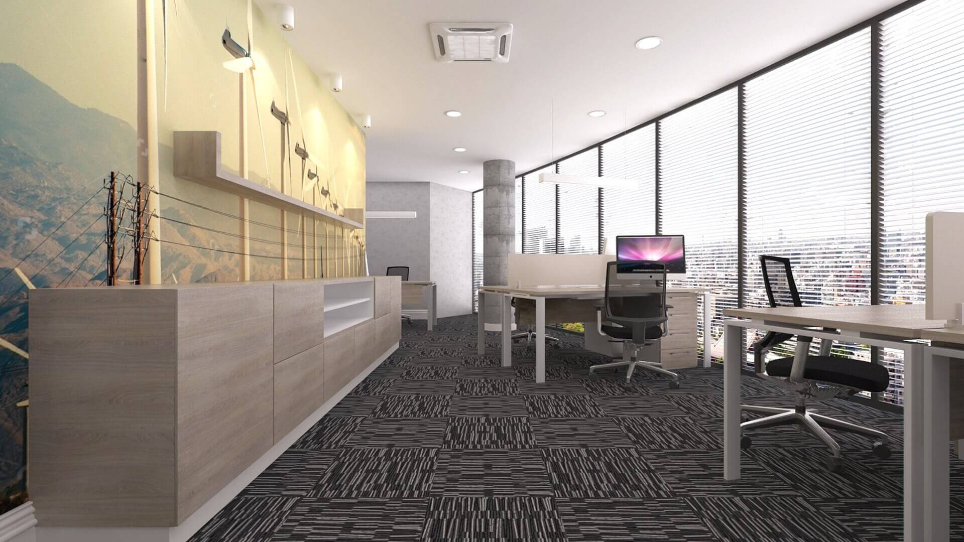 ofis içmimari 2589 DSR Enerji Ofisler