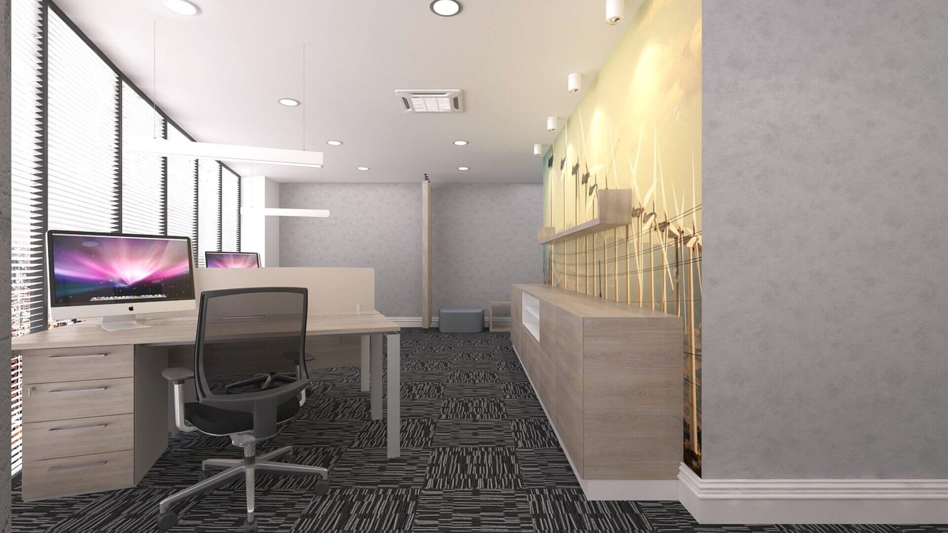 ofis içmimari 2592 DSR Enerji Ofisler