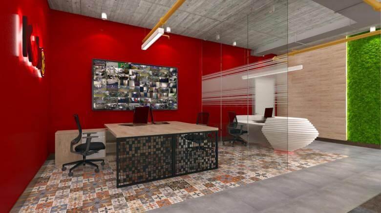ofis içmimari 2602 Kebo Ofis Ofisler