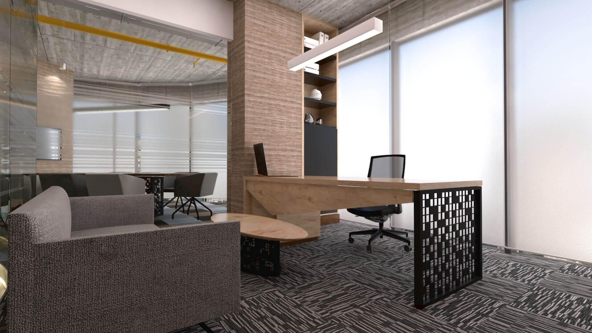 ofis içmimari 2607 Kebo Ofis Ofisler