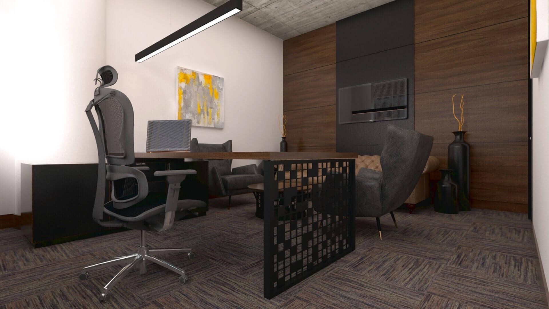 Ankara ofis tasarım 2611 Kebo Ofis Ofisler