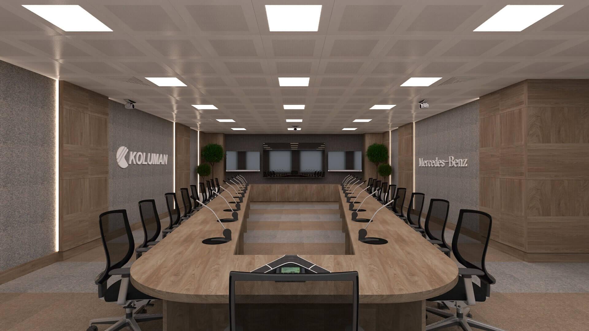 ofis içmimari 2613 Koluman Ankara Ofisler