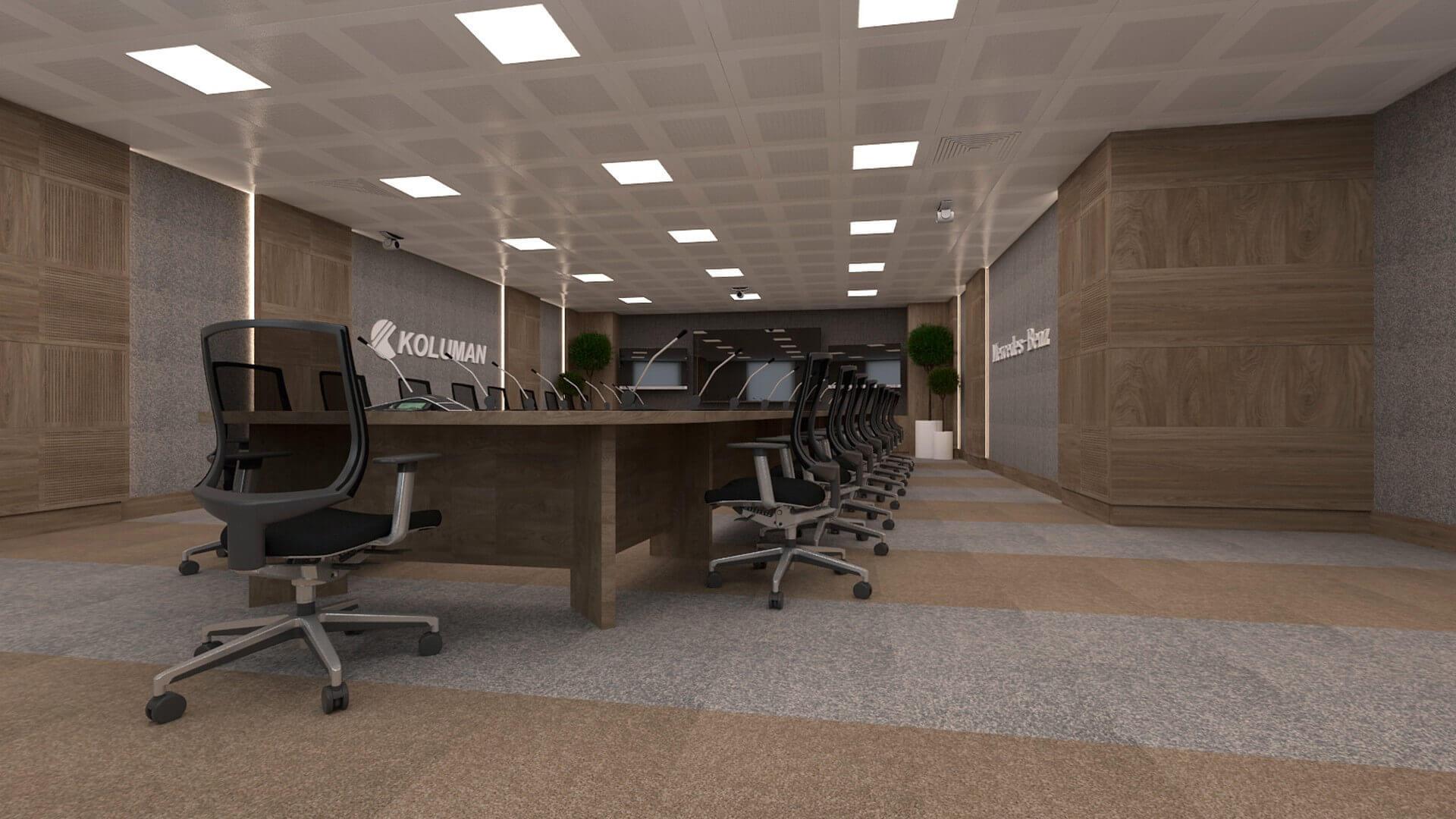 ofis içmimari 2616 Koluman Ankara Ofisler