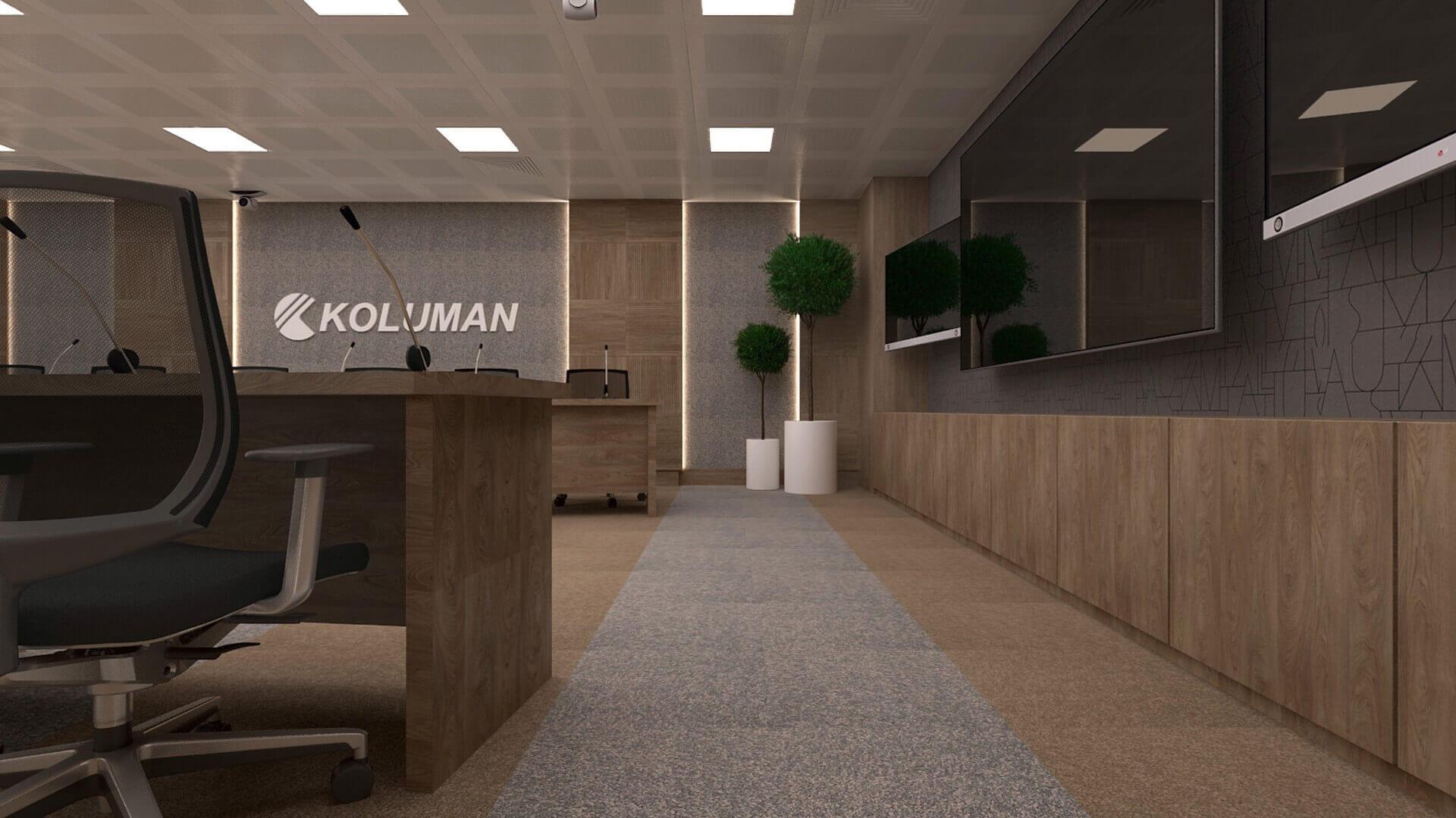 ofis mimari 2618 Koluman Ankara Ofisler