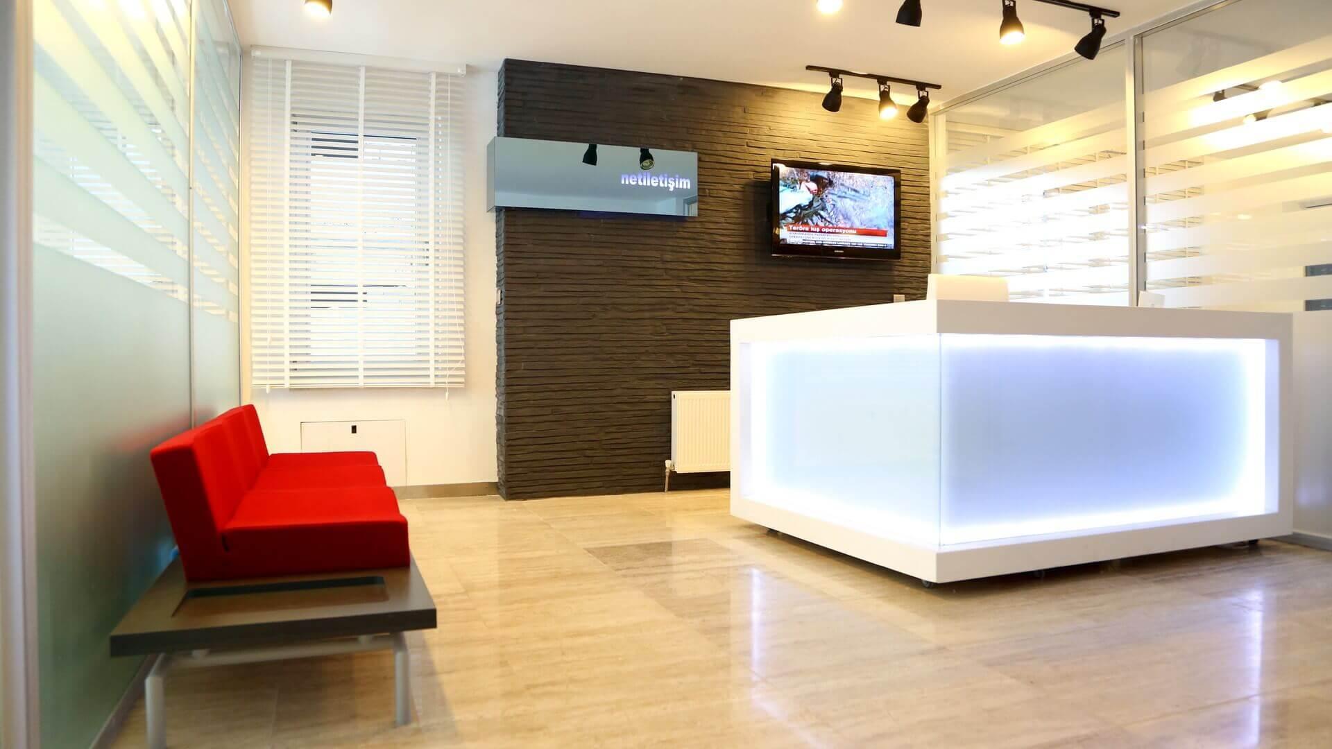 ofis içmimari 2646 Net İletişim Ofis Binası Ofisler