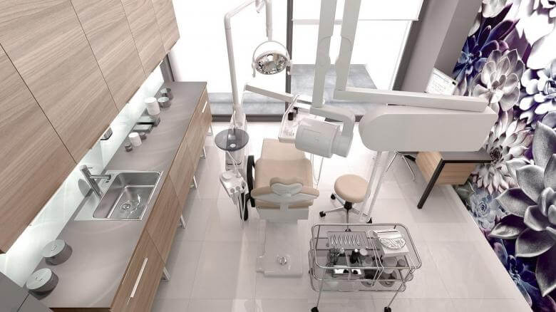 ofis mimari 2654 Officium Diş Kliniği Ofisler