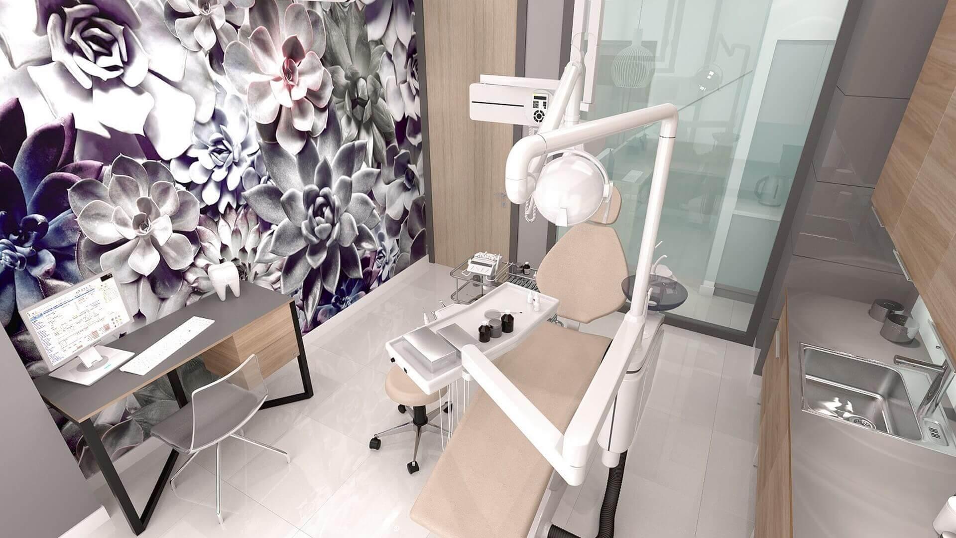 içmimar 2656 Officium Diş Kliniği Ofisler