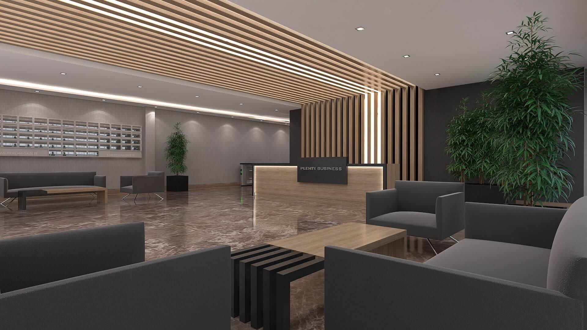 Ankara ofis mimar 2661 Plenty Plaza Ofisler