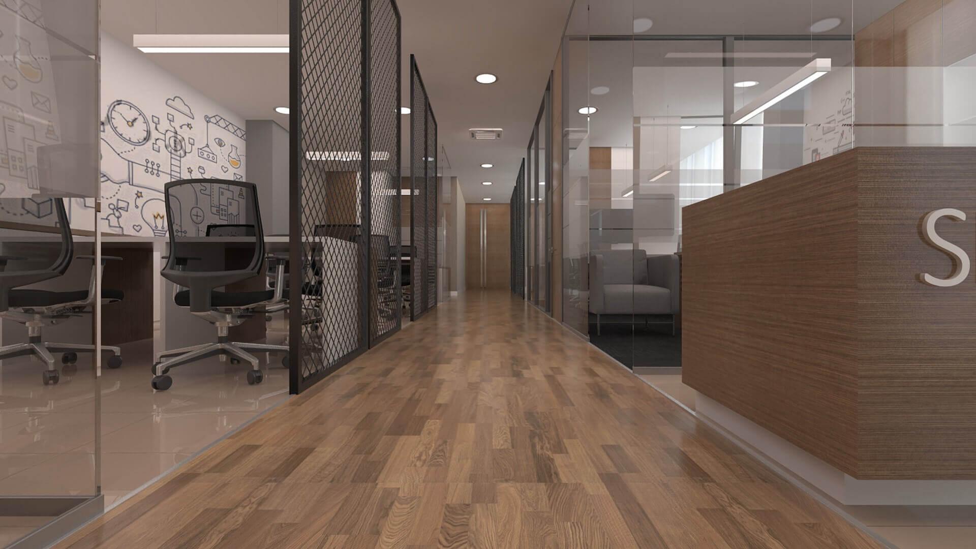 ofis dekorasyonu 2690 Seneka Yazılım Ofisler