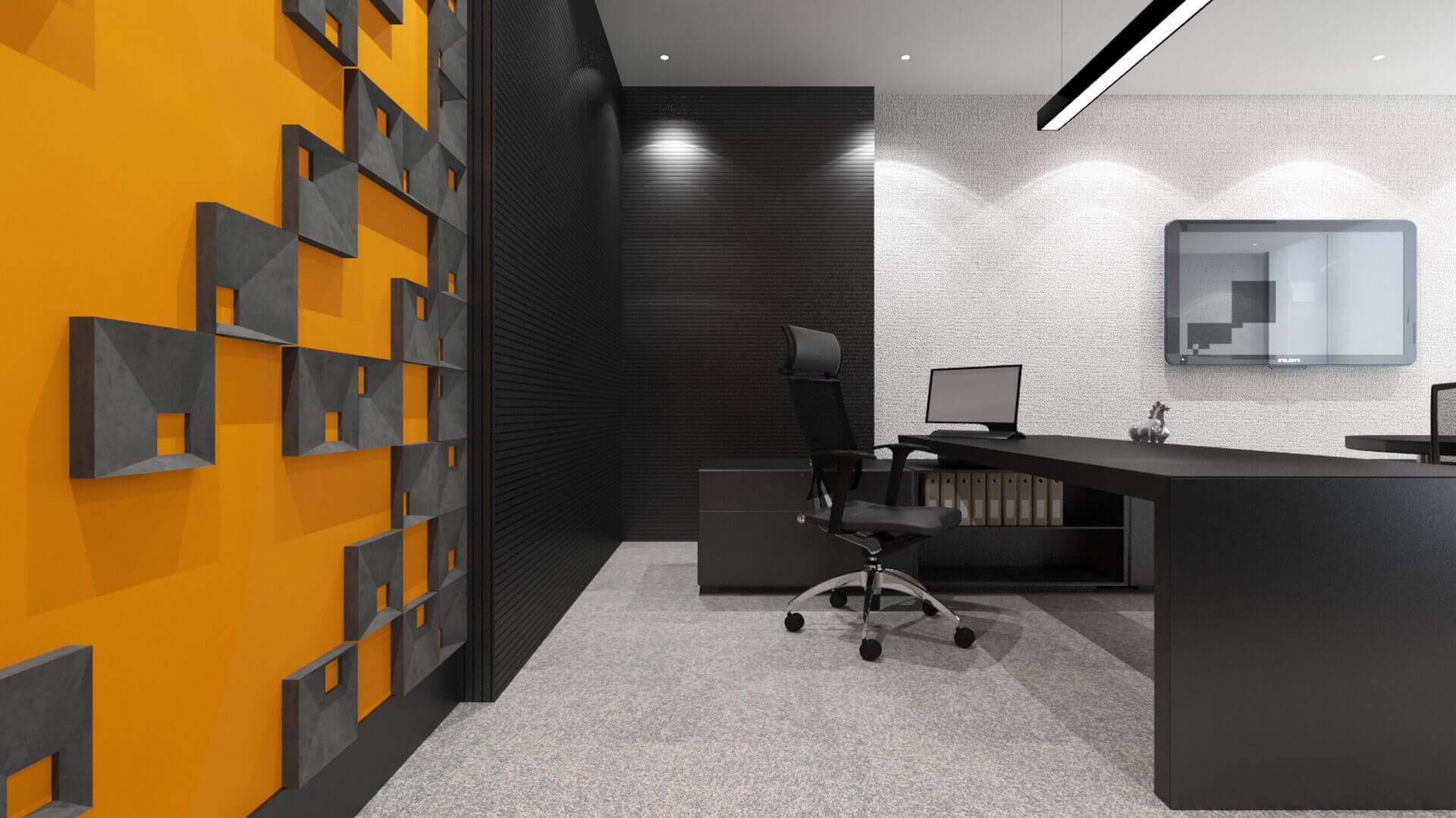 Ankara ofis tasarım 2701 Seneka Yazılım Ofisler