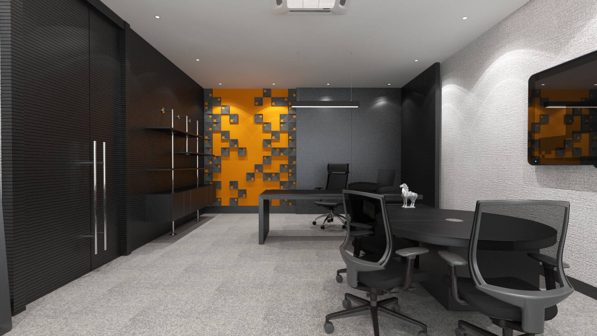 ofis dekorasyonu 2705 Seneka Yazılım Ofisler