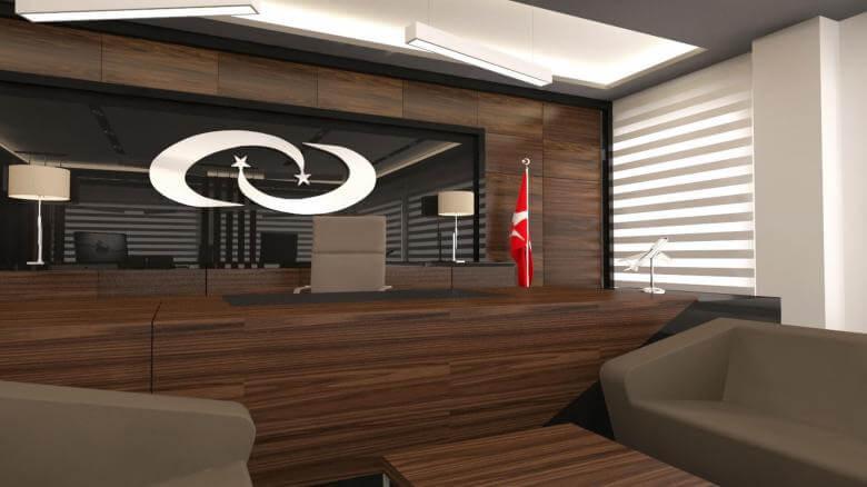içmimar 2716 Türk İlaç  Ofisler