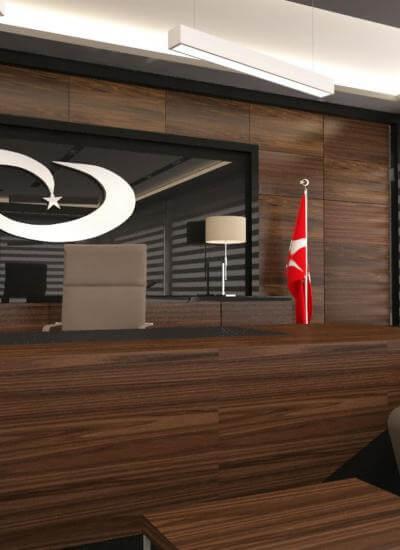 ofis mimari 2716 Türk İlaç