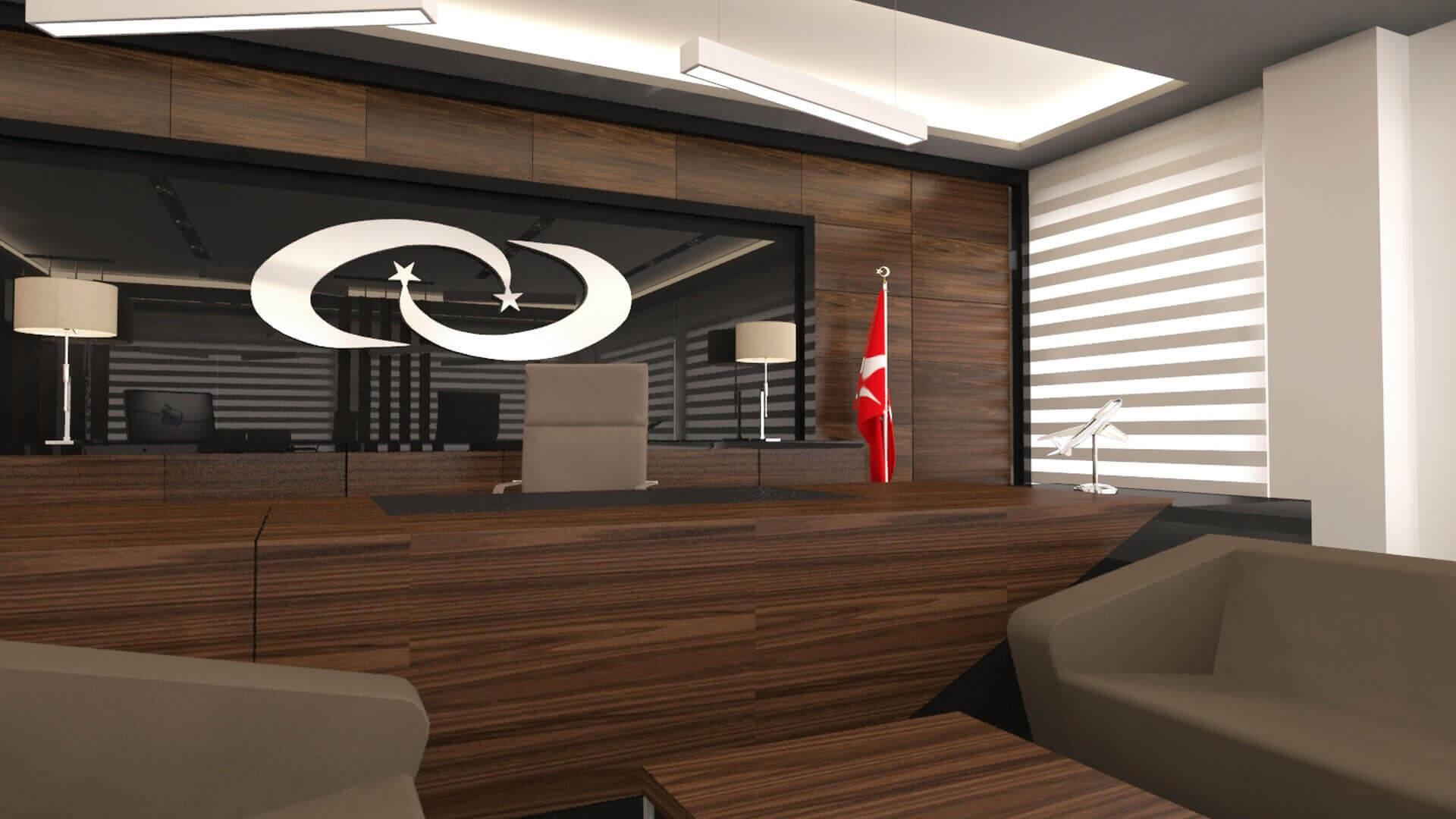 ofis mimari 2716 Türk İlaç  Ofisler