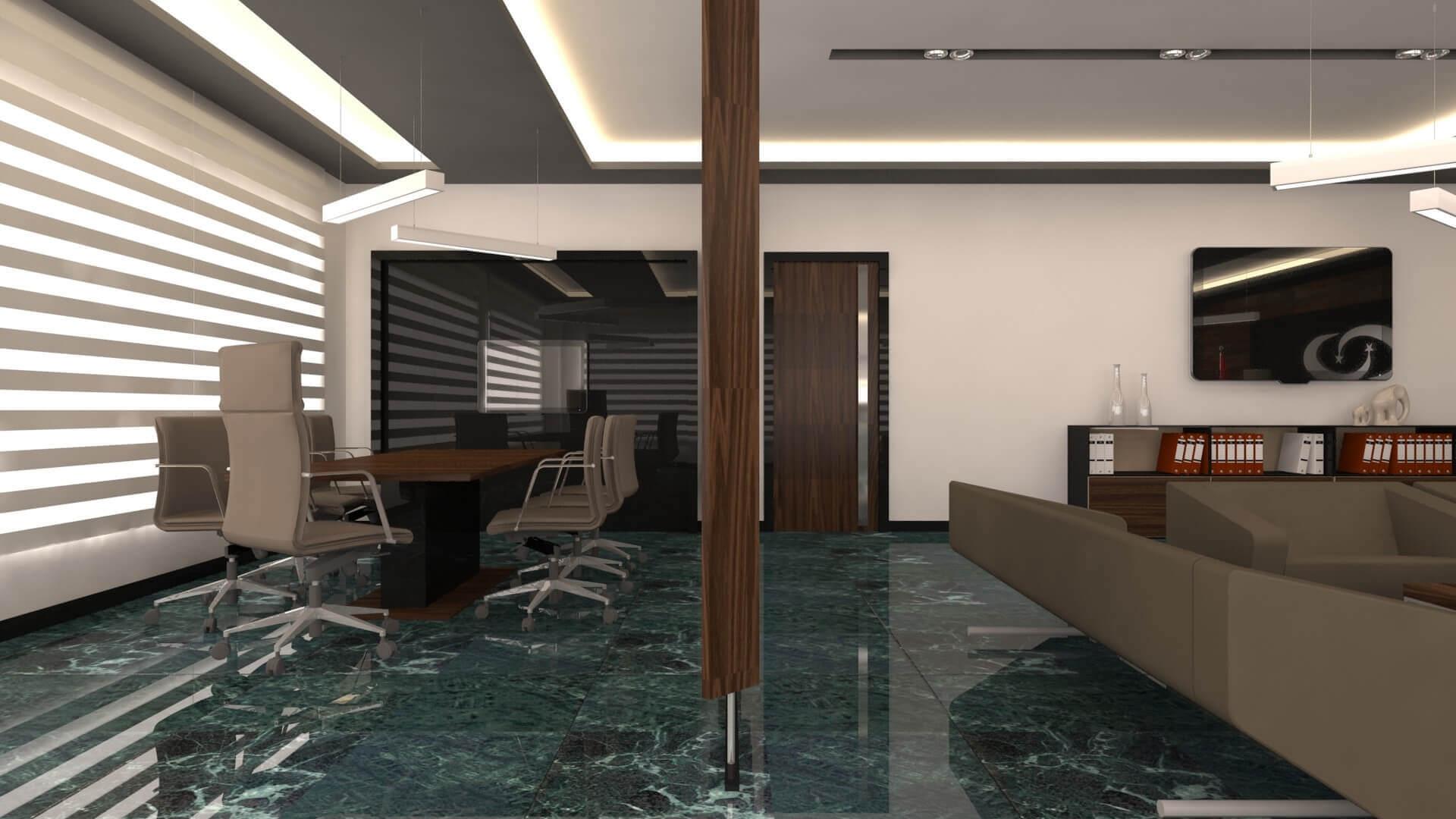 ofis içmimari 2718 Türk İlaç  Ofisler