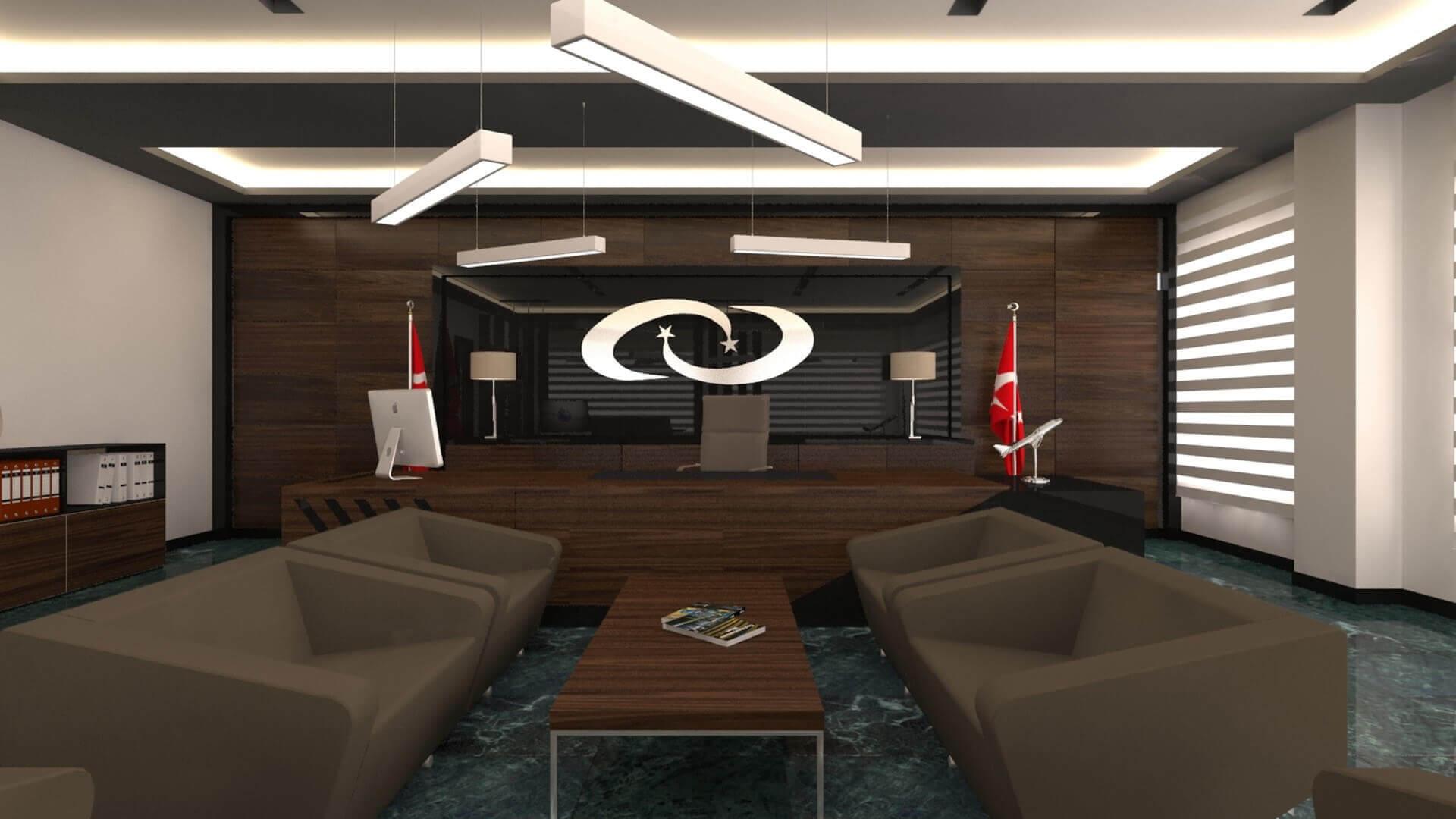 Bekleme alanı 2721 Türk İlaç  Ofisler