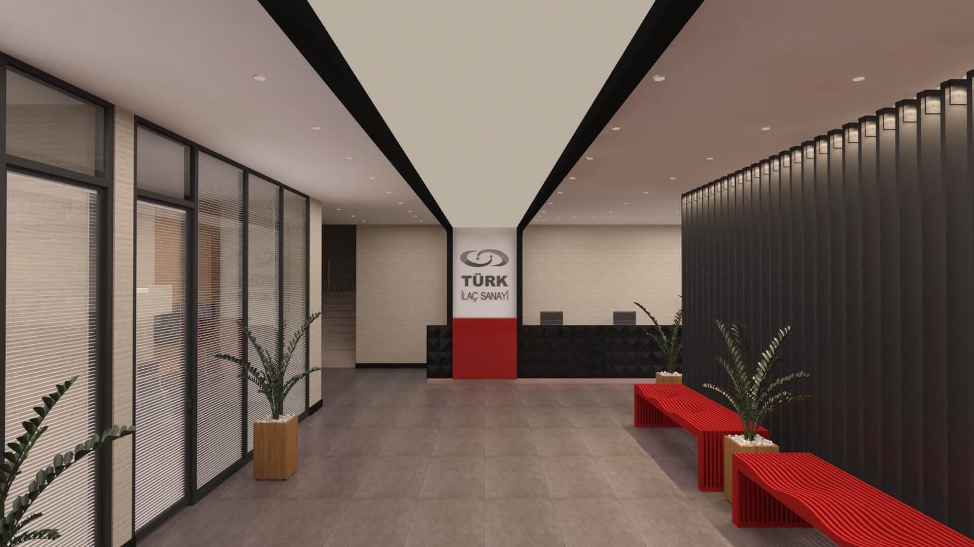 ofis içmimari 2724 Türk İlaç  Ofisler