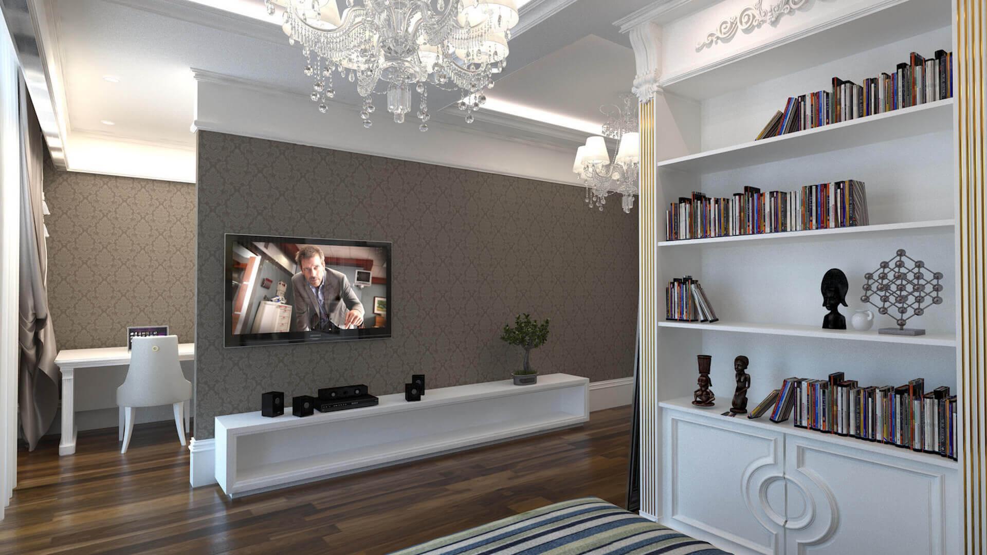 villa dekorasyonu 2787 Özel Proje Konutlar
