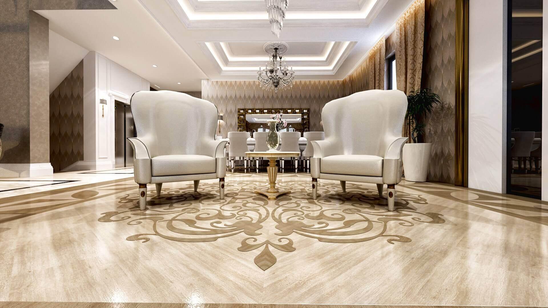 villa dekorasyonu 2829 Özel Proje Konutlar