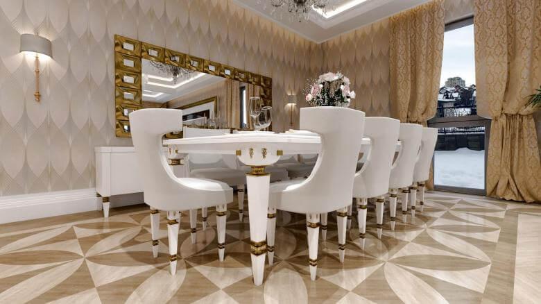 villa dekorasyonu 2830 Özel Proje Konutlar