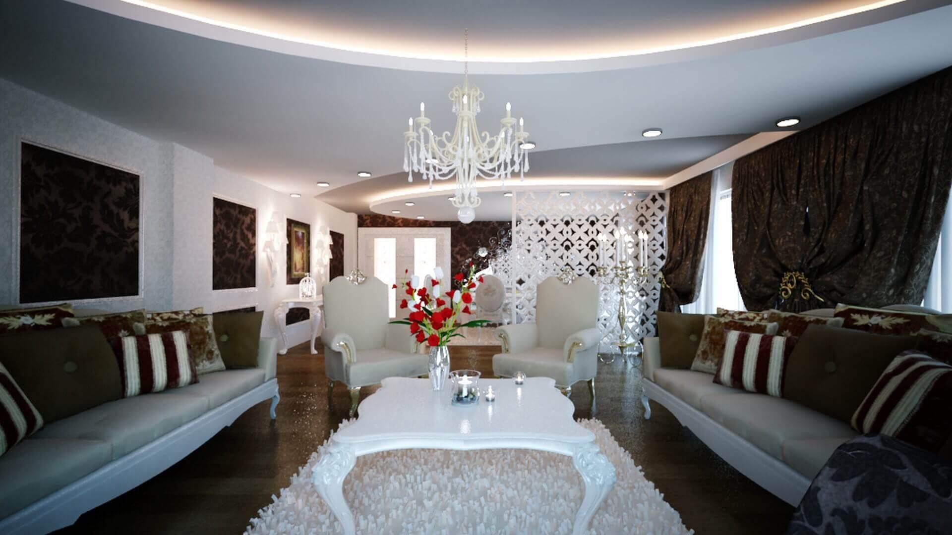 villa dekorasyonu 2889 C. Balta Konutu Konutlar