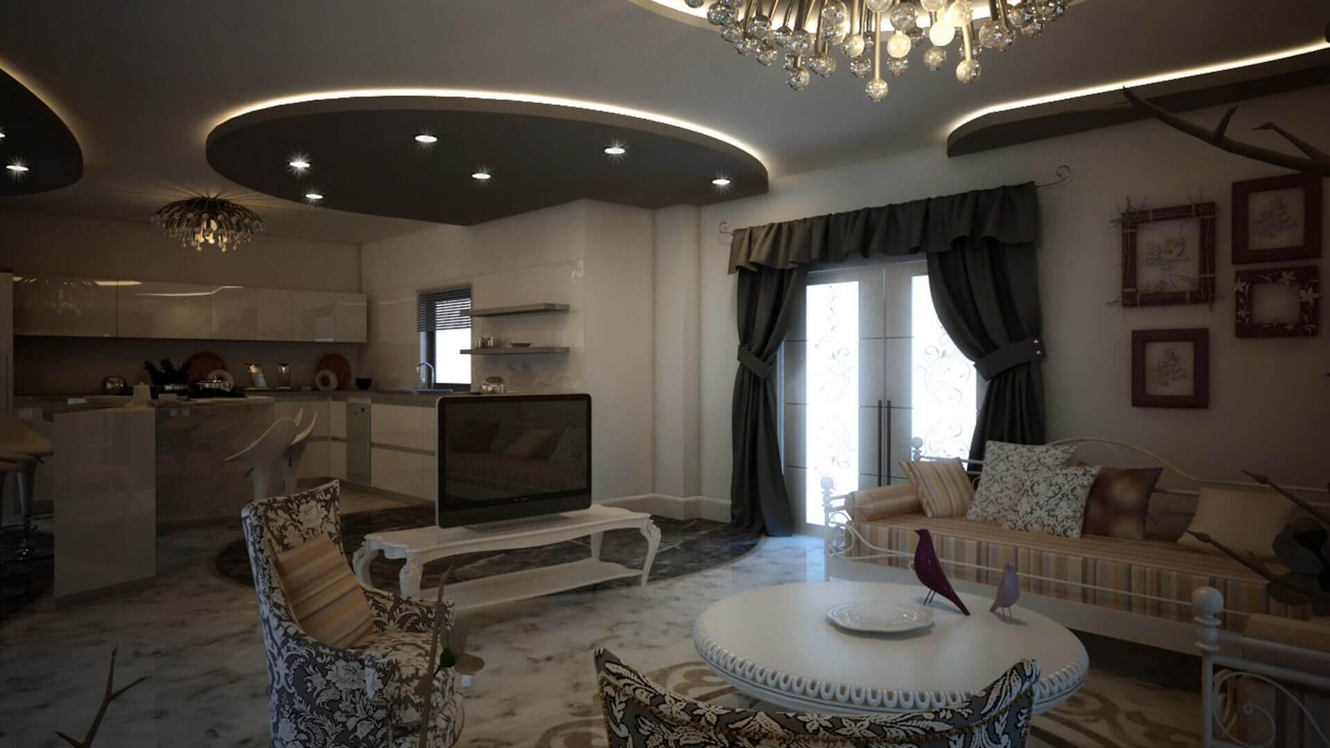 Ev iç tasarım 2901 C. Balta Konutu Konutlar